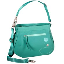 Haiku Bucket Shoulder Bag - Recycled Materials (For Women) in Seaglass - Closeouts