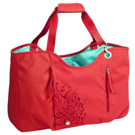 Haiku Day Tote Bag (For Women) in Bittersweet Cranberry - Closeouts