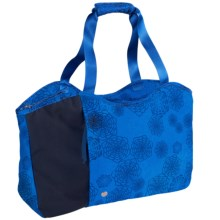 Haiku Day Tote Bag (For Women) in Tie Dye Midnight - Closeouts