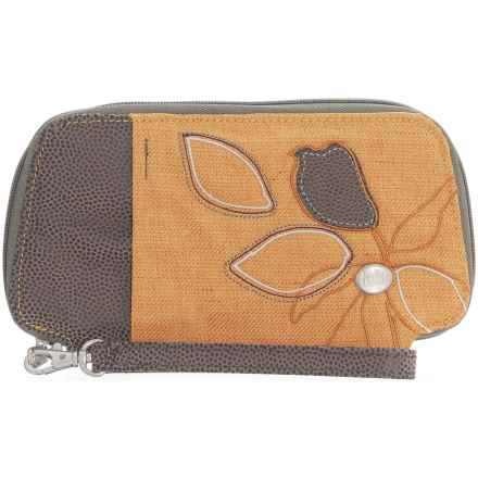 Haiku Fortitude Wallet (For Women) in Amber Gold - Closeouts