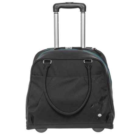 Haiku Quest Rolling Carry-On Suitcase (For Women) in Black Juniper - Closeouts