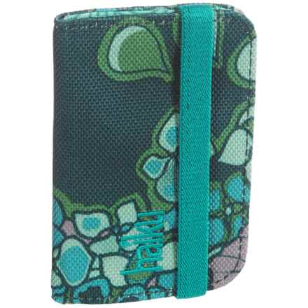 Haiku RFID-Blocking Mini Wallet (For Women) in Hydrangea Print - Closeouts