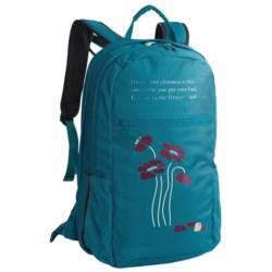 Haiku Rumi Backpack - Recycled Materials (For Women) in Blossom/Ocean