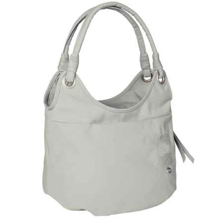 Haiku Stroll Shoulder Bag (For Women) in Mist Gray - Closeouts
