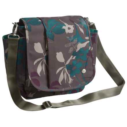 Haiku To Go Convertible Messenger Bag (For Women) in Flower Fall Print - Closeouts