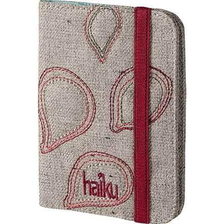 Haiku Trek RFID Passport Sleeve in Mushroom - Closeouts