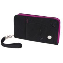 Haiku Zip Wallet - Wrist Strap (For Women) in Black - Closeouts