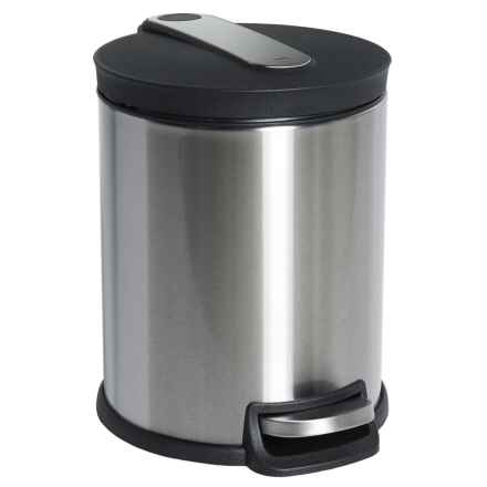 Hailo Soft Close Waste Bin - 5L in Stainless Steel - Closeouts
