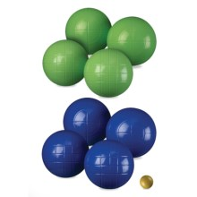 Halex Select Bocce Ball Set - 100mm in See Photo - Closeouts