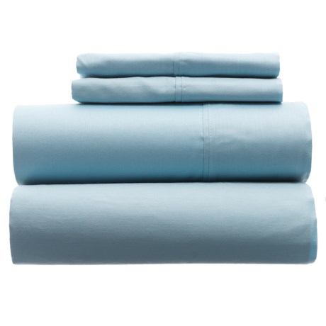 Hamlet Cotton Sheet Set - Queen, 300 TC in Light Blue