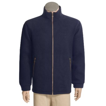 Hammer Springs Timaru Wool Jacket - Windproof Membrane (For Men) in Navy
