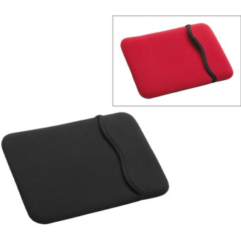 Hammerhead MacBook Pro Reversible Sleeve - Neoprene in Black/Red
