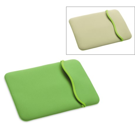Hammerhead MacBook Pro Reversible Sleeve - Neoprene in Green/Beige