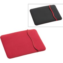 Hammerhead MacBook Pro Reversible Sleeve - Neoprene in Red/Black - Closeouts