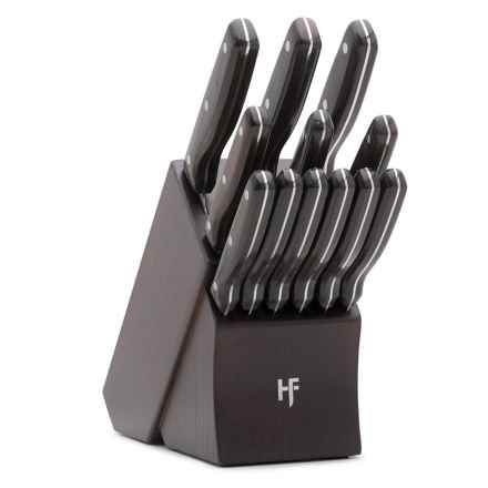 Hampton Forge Norwood Knife Block Set - 13-Piece in See Photo - Closeouts