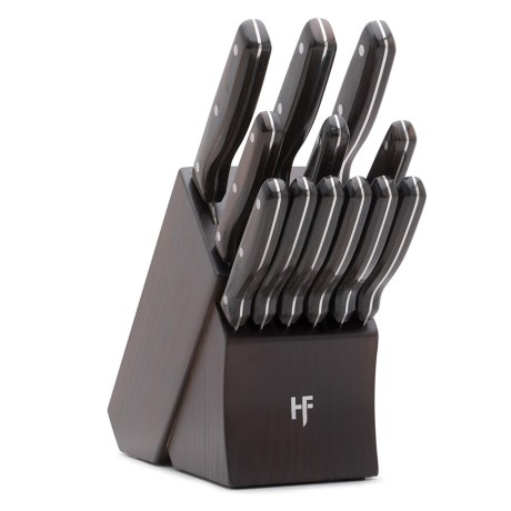 Hampton Forge Norwood Knife Block Set - 13-Piece in See Photo