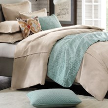 Hampton Hill by JLA Home Natural Instincts Comforter Set - King, 7-Piece in Linen - Closeouts