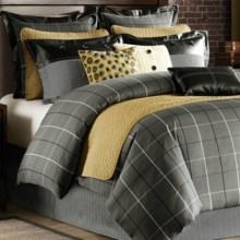 Hampton Hill by JLA Home Saville Row Comforter Set - Twin, 7-Piece in Grey - Closeouts