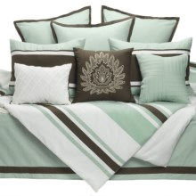 Hampton Hill Serenity Comforter Bedding Set - King, 10-Piece in See Photo - Closeouts
