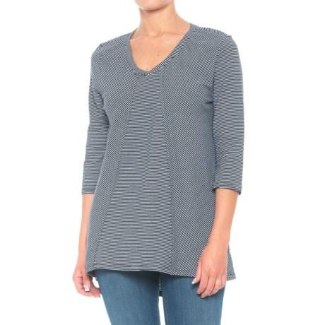 Hamptons Tunic Shirt - 3/4 Sleeve (For Women)