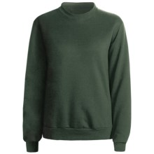 Hanes 50/50 Sweatshirt (For Women) in Dark Green - 2nds