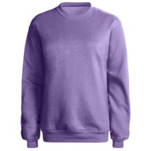 Hanes 50/50 Sweatshirt (For Women) in Light Purple - 2nds