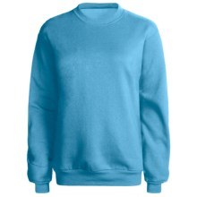 Hanes 50/50 Sweatshirt (For Women) in Pool - 2nds