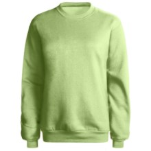 Hanes 50/50 Sweatshirt (For Women) in Yellow Green - 2nds