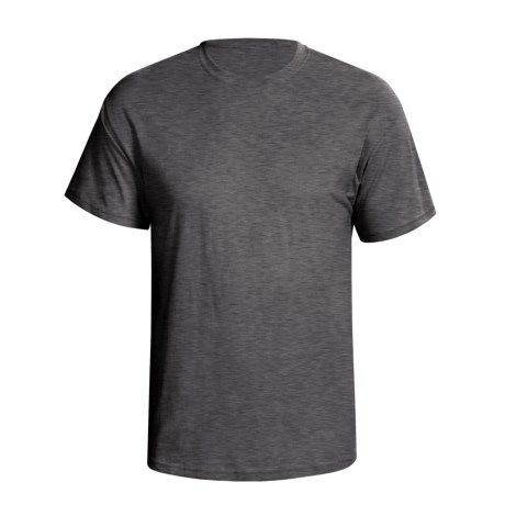 Hanes 5.2 oz Heavyweight 50/50 T-Shirt - Short Sleeve (For Men and Women) in Charcoal Heather