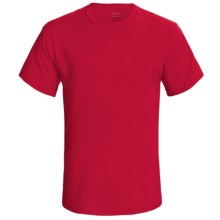 Hanes 60/40 ComfortBlend® T-Shirt - Short Sleeve (For Men) in Red - 2nds