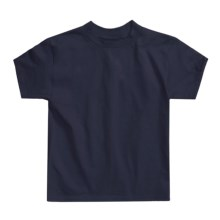 Hanes Authentic Open End T-Shirt - Cotton, Short Sleeve (For Youth) in Navy - 2nds