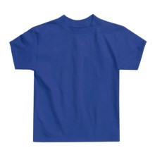 Hanes Authentic Open End T-Shirt - Cotton, Short Sleeve (For Youth) in Royal - 2nds