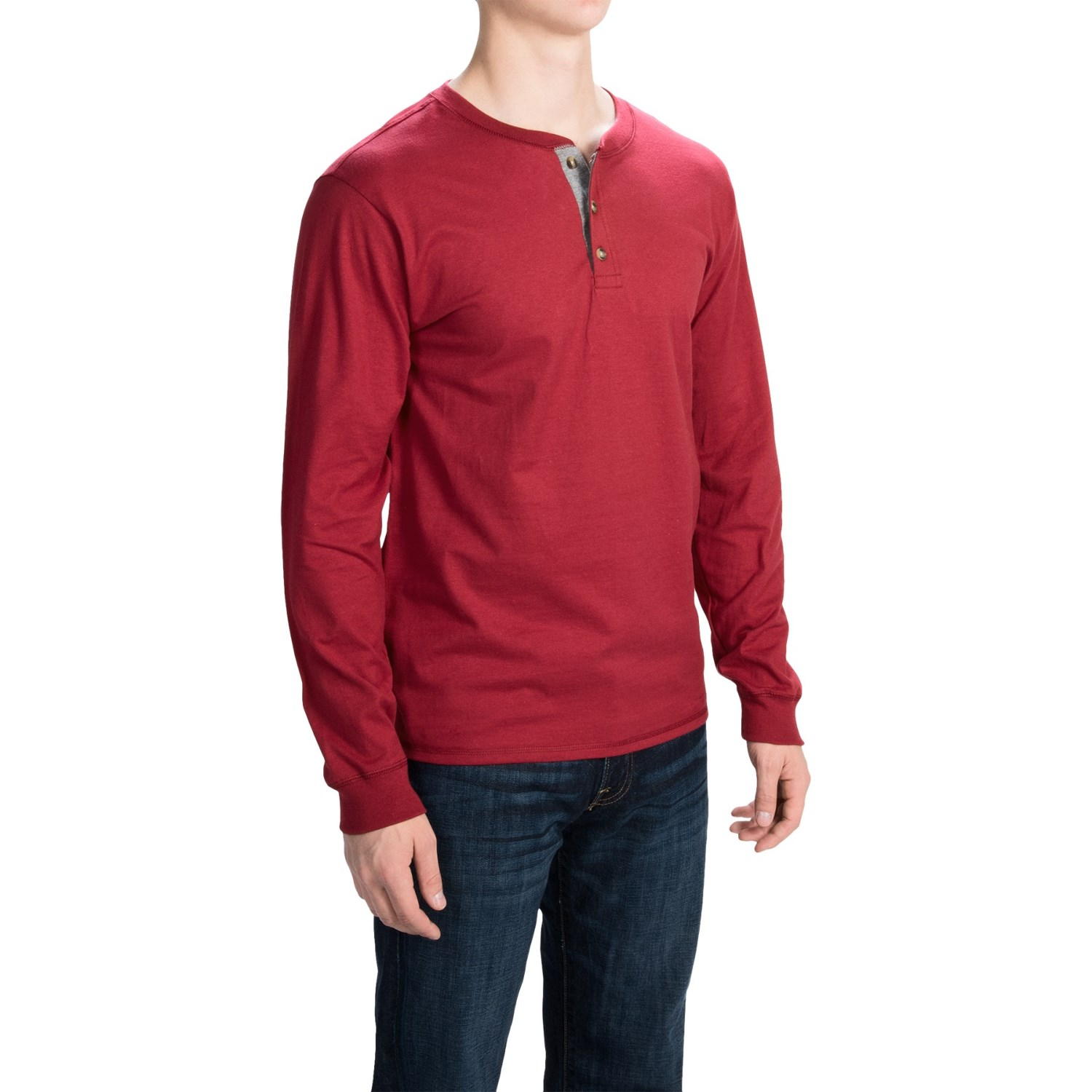 Mens hanes beefy 100 cotton tall long sleeve t shirt xlt for Mens 100 cotton long sleeve t shirts