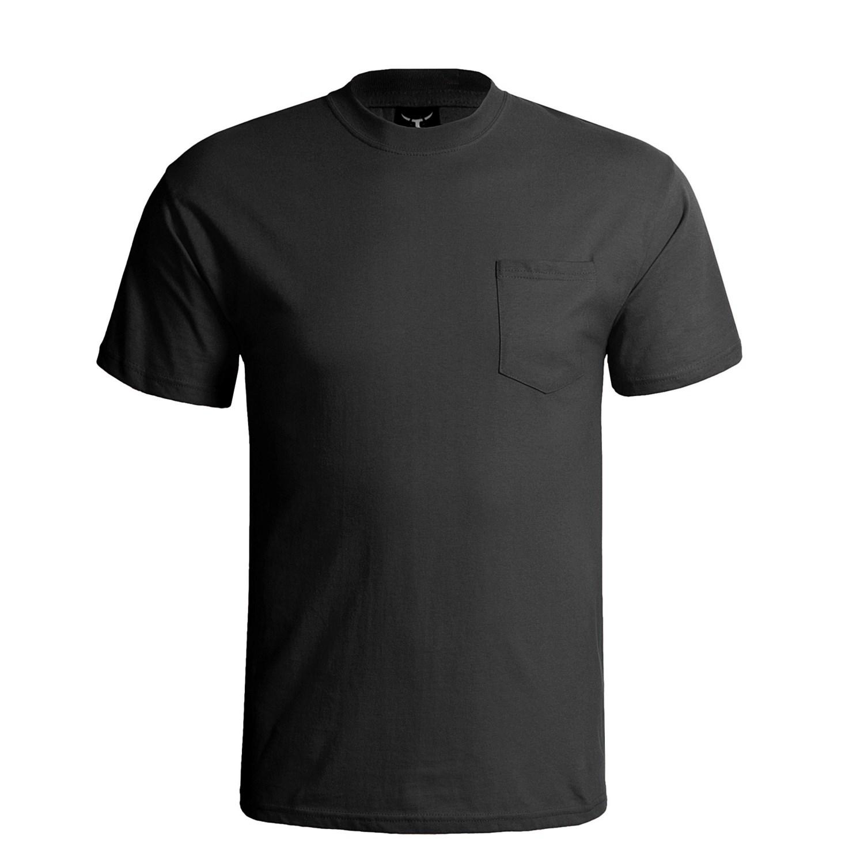 Black Hanes t Shirt Hanes Beefy-t Pocket T-shirt