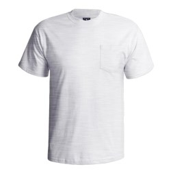 Hanes Beefy-T Pocket T-Shirt - Ring-Spun Cotton, Short Sleeve (For Men) in White
