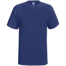 Hanes Beefy T-Shirt - Short Sleeve (For Tall Men and Women) in Dark Blue - 2nds