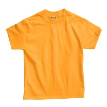 Hanes Beefy T-Shirt - Short Sleeve (For Youth) in Gold - 2nds
