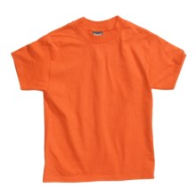 Hanes Beefy T-Shirt - Short Sleeve (For Youth) in Orange - 2nds