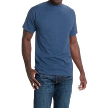 Hanes Beefy-T® T-Shirt - Short Sleeve (For Men and Women) in Blue Grey - 2nds