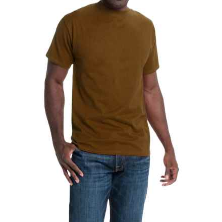 Hanes Beefy-T® T-Shirt - Short Sleeve (For Men and Women) in Brown - 2nds