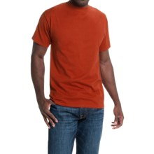 Hanes Beefy-T® T-Shirt - Short Sleeve (For Men and Women) in Burnt Orange - 2nds