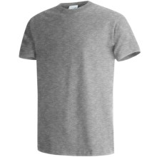 Hanes Beefy-T® T-Shirt - Short Sleeve (For Men and Women) in Grey Heather - 2nds
