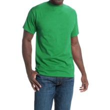 Hanes Beefy-T® T-Shirt - Short Sleeve (For Men and Women) in Medium Green - 2nds