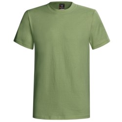 Hanes Beefy-T® T-Shirt - Short Sleeve (For Men and Women) in Tan