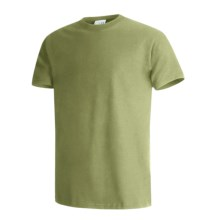 Hanes Beefy-T® T-Shirt - Short Sleeve (For Men and Women) in Pear Green - 2nds