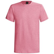 Hanes Beefy-T® T-Shirt - Short Sleeve (For Men and Women) in Pink Heather - 2nds