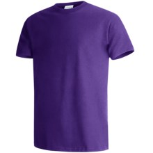 Hanes Beefy-T® T-Shirt - Short Sleeve (For Men and Women) in Purple - 2nds