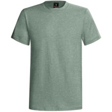 Hanes Beefy-T® T-Shirt - Short Sleeve (For Men and Women) in Sage Heather - 2nds