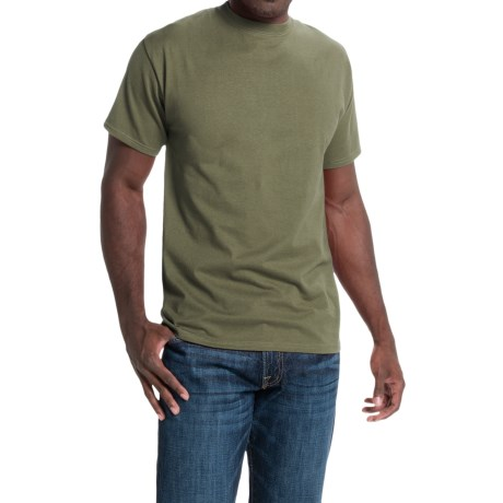 Hanes Beefy-T® T-Shirt - Short Sleeve (For Men and Women) in Sage