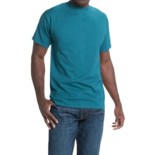 Hanes Beefy-T® T-Shirt - Short Sleeve (For Men and Women) in Turquoise - 2nds